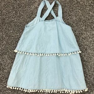 7 For All Mankind Dresses - 7 for all Mankind Sleeveless Dress - Size 12 M